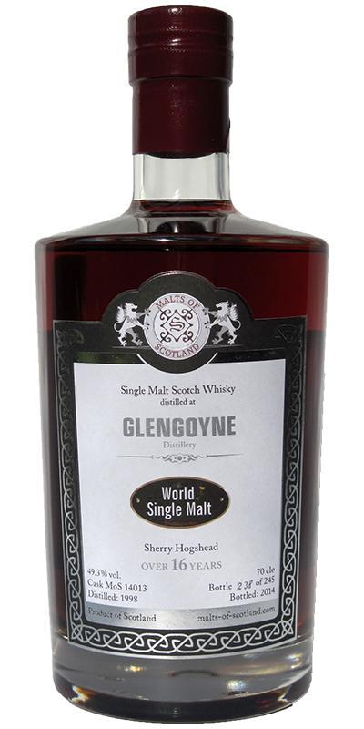 Glengoyne 1998 MoS