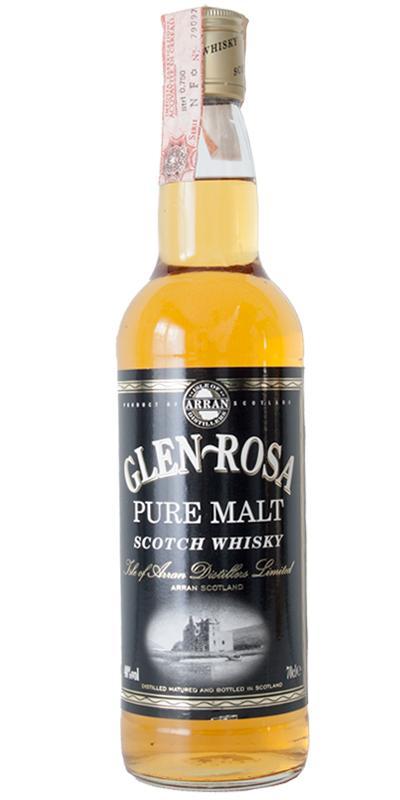 Glen Rosa Pure Malt IoA