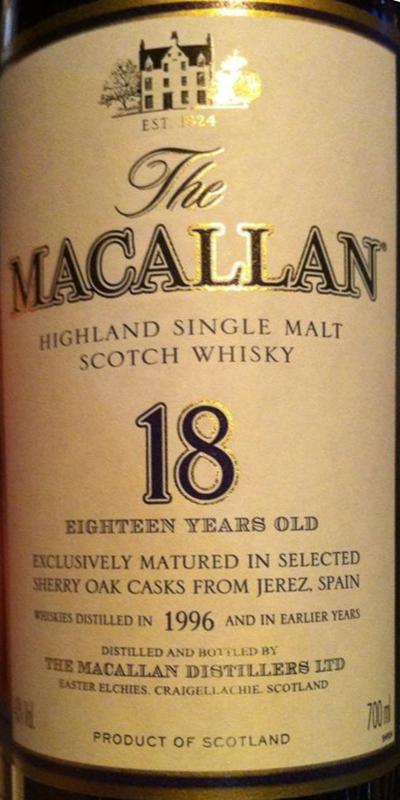 Macallan 1996