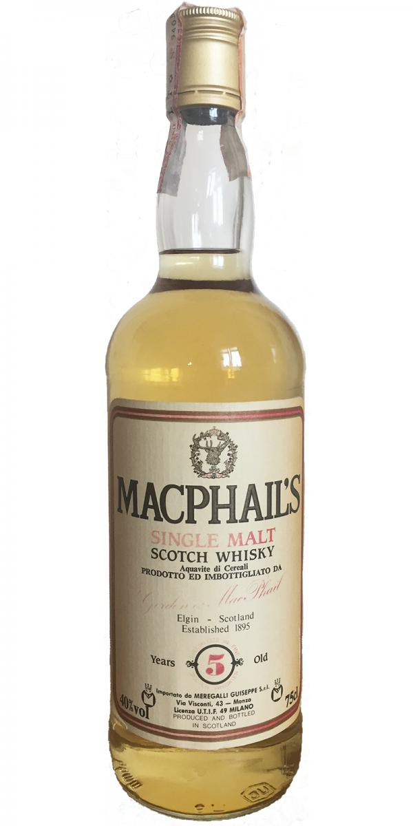 MacPhail's 05-year-old GM