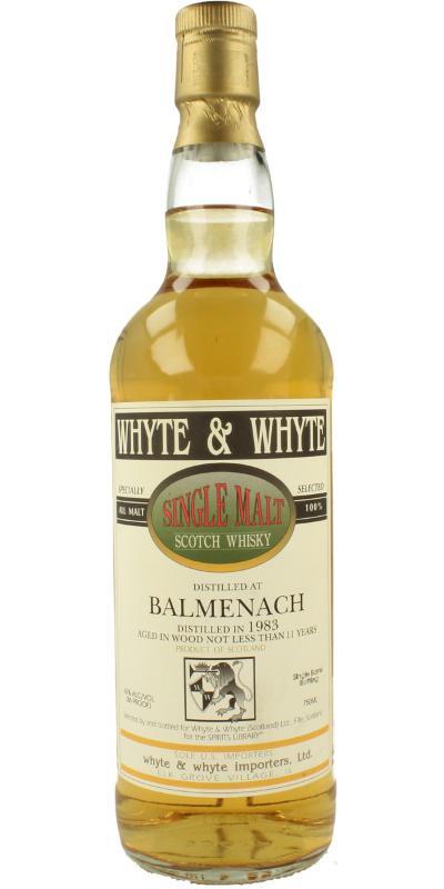 Balmenach 1983 W&W