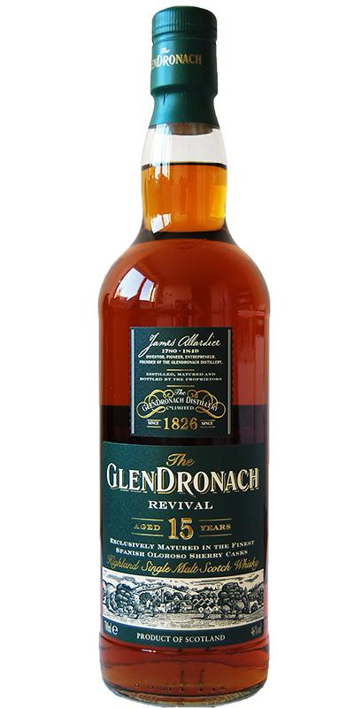 Glendronach 15-year-old