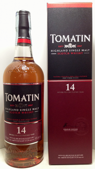 Tomatin 14 years 46% Portwood finish