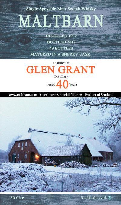 Glen Grant 1972 MBa