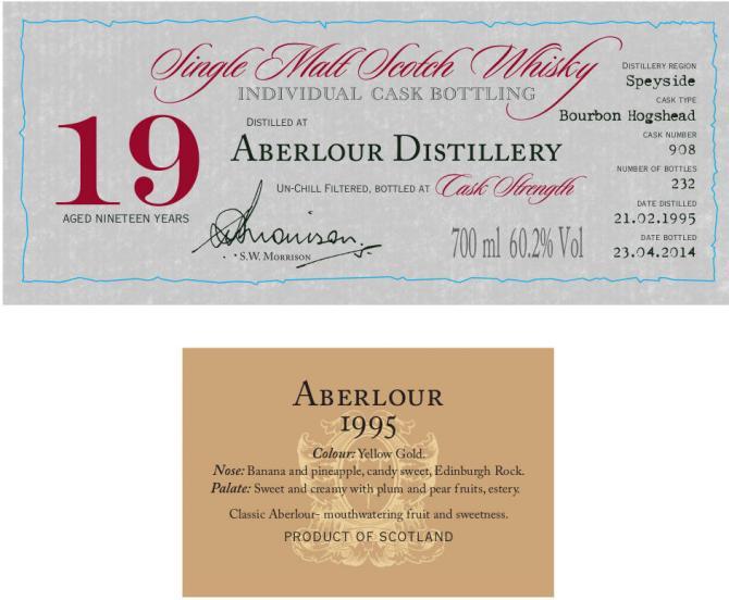 Aberlour 1995 DR