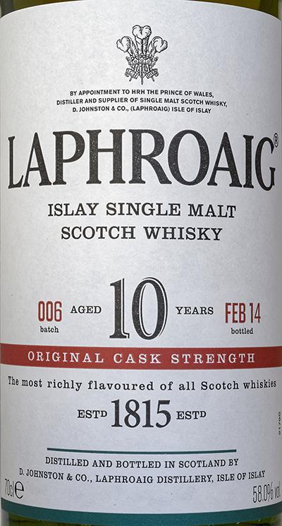 Laphroaig Cask Strength