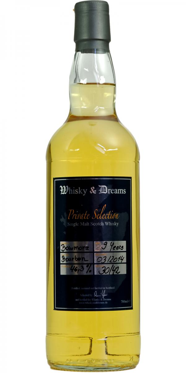 Bowmore 09-year-old W&D