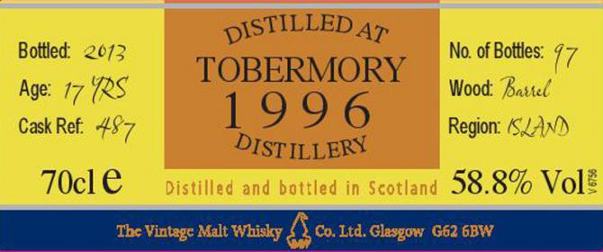 Tobermory 1996 VM