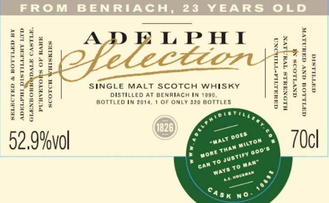 BenRiach 1990 AD