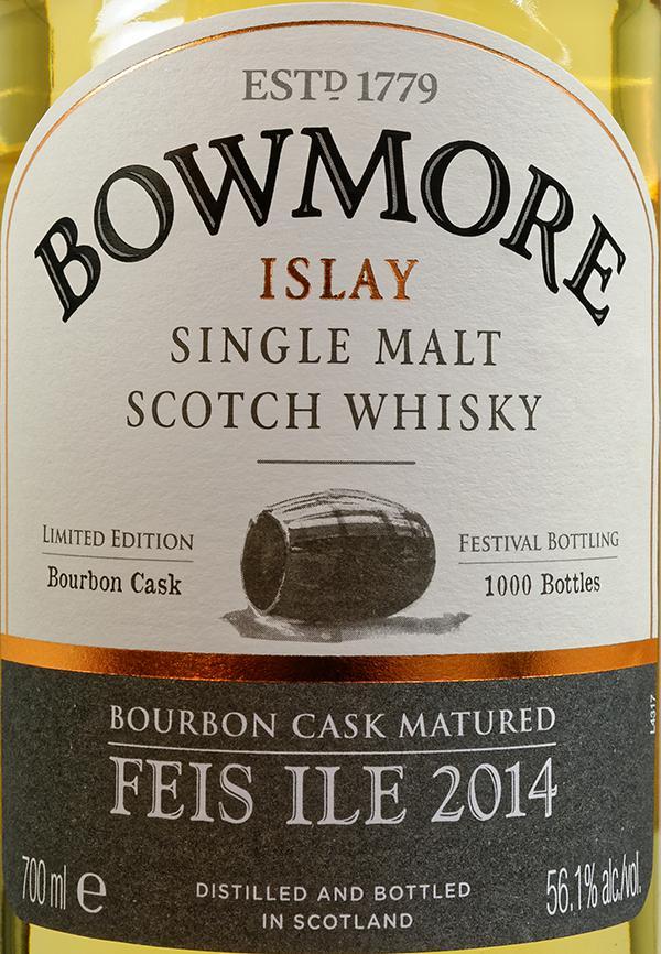 Bowmore Feis Ile 2014