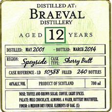 Braeval 2001 DoD