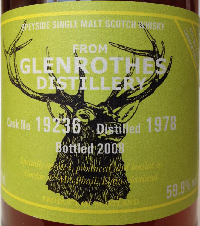 Glenrothes 1978 GM