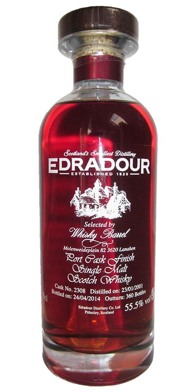 Edradour 2001