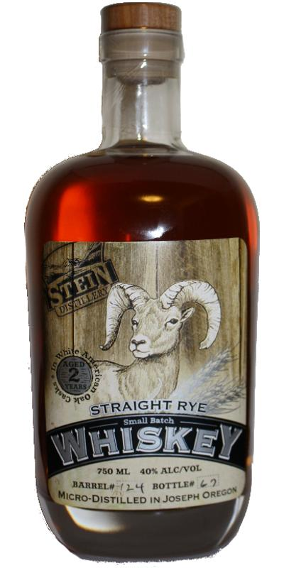 Stein Straight Rye Whiskey