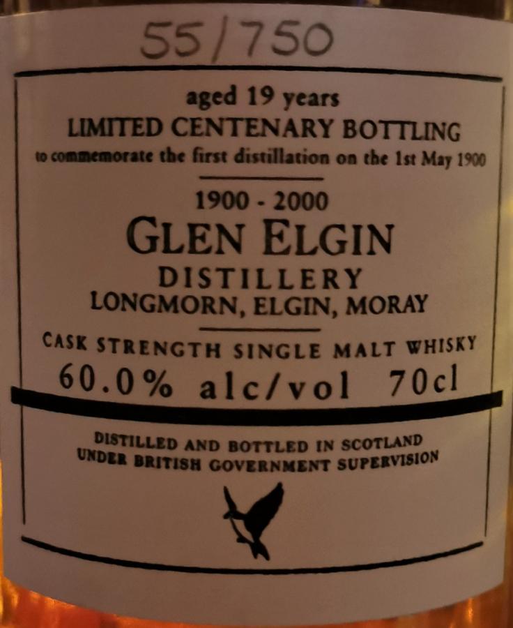 Glen Elgin 19-year-old