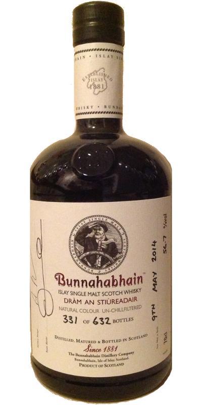 Bunnahabhain Dràm an Stiùreadair