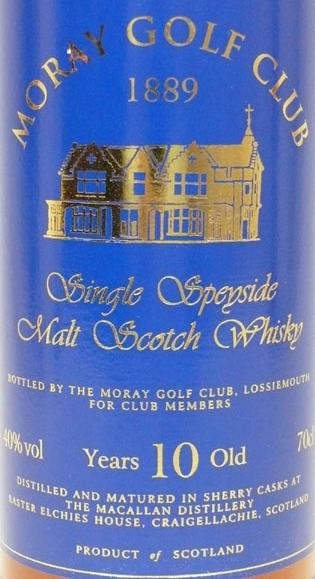 Macallan 10-year-old MGC