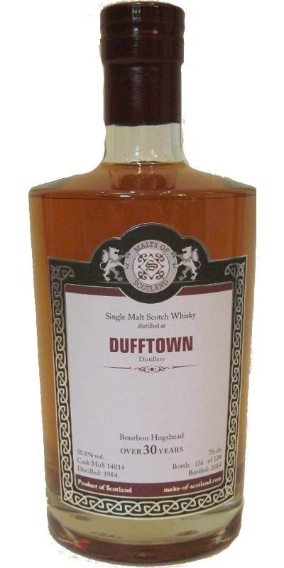 Dufftown 1984 MoS