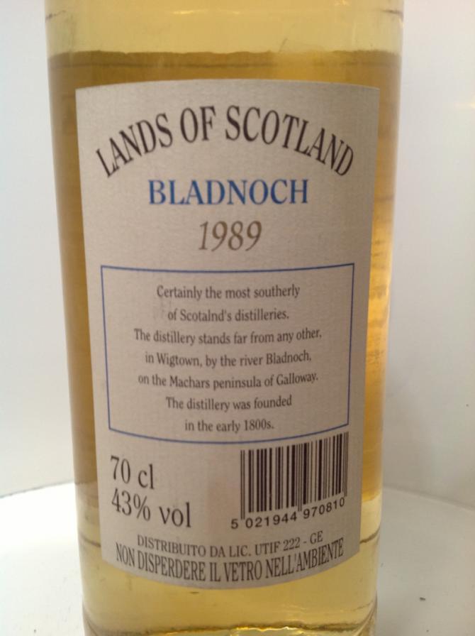 Bladnoch 1989 LoS