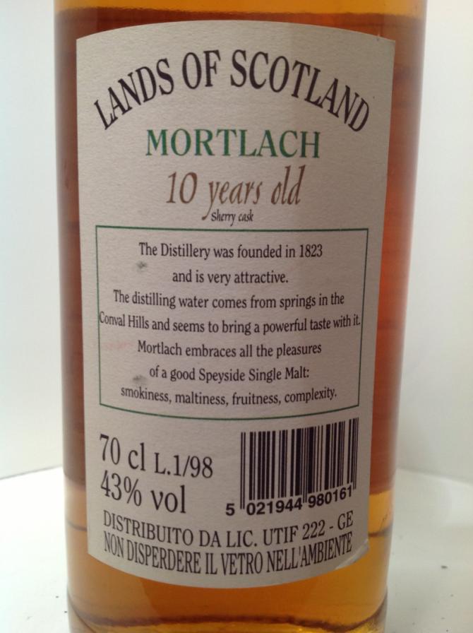 Mortlach 1988 LoS