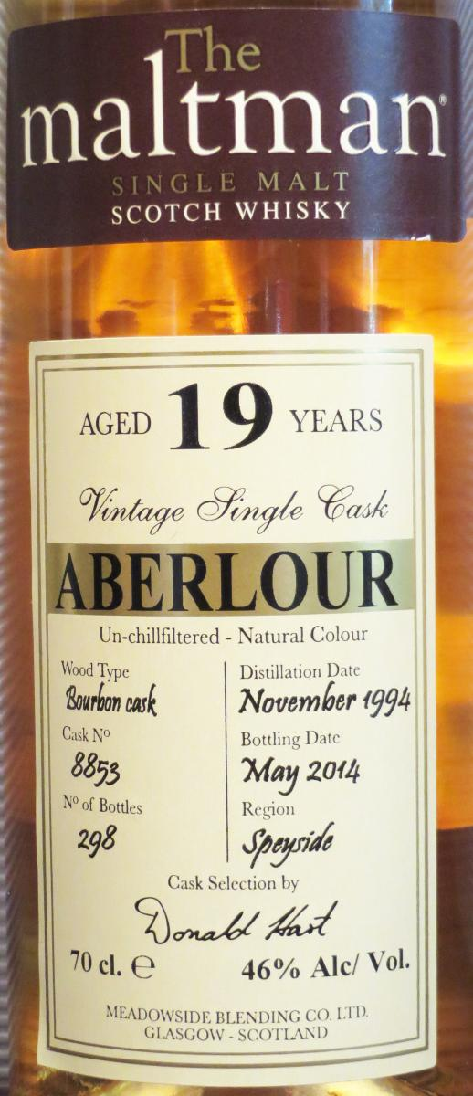 Aberlour 1994 MBl
