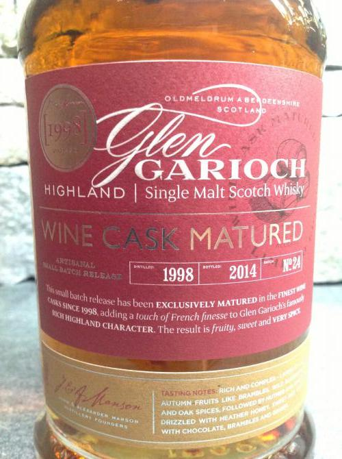 Glen Garioch 1998
