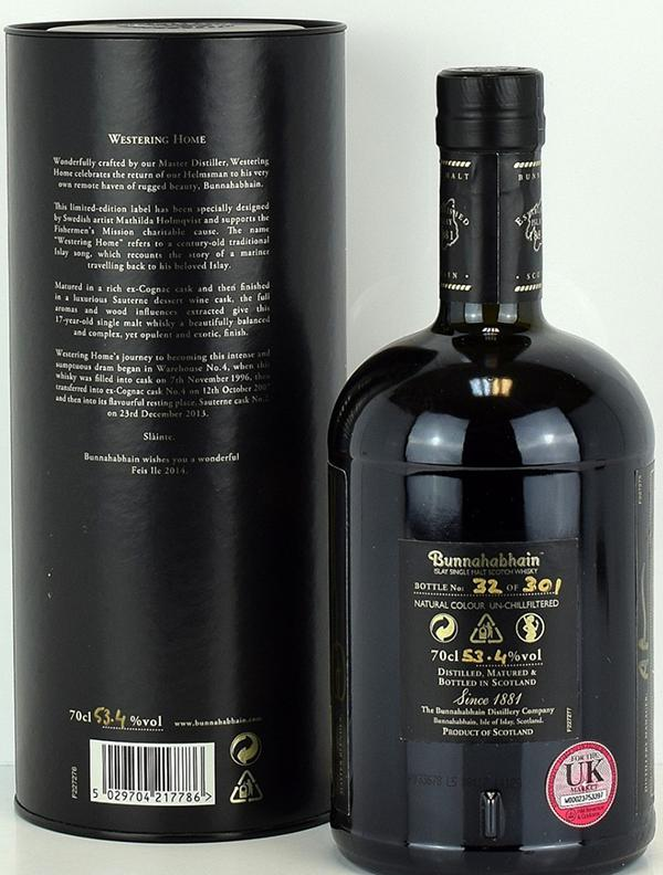 Bunnahabhain 17-year-old Westering Home