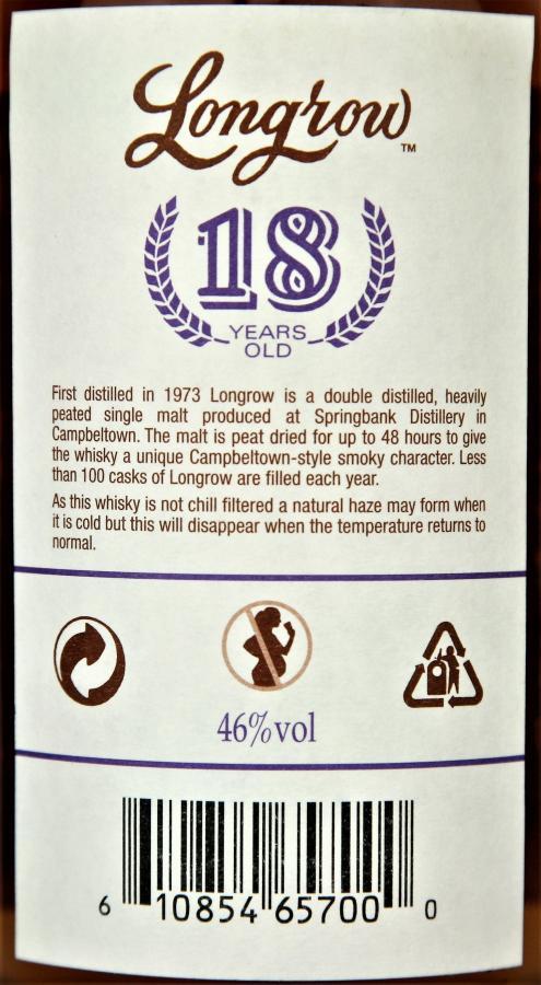 Longrow 18-year-old