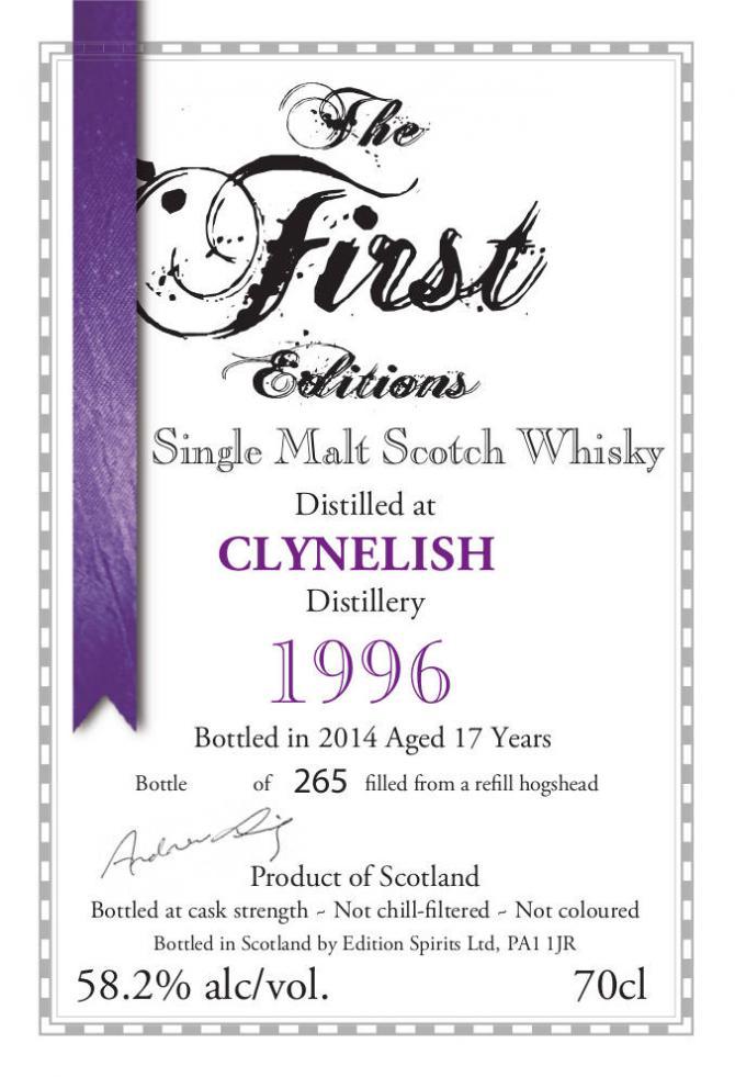 Clynelish 1996 ED