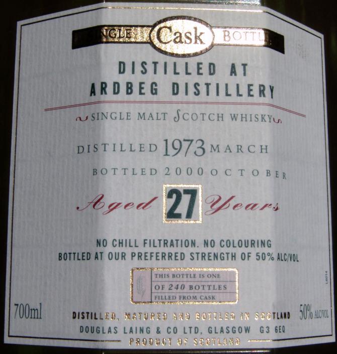 Ardbeg 1973 DL