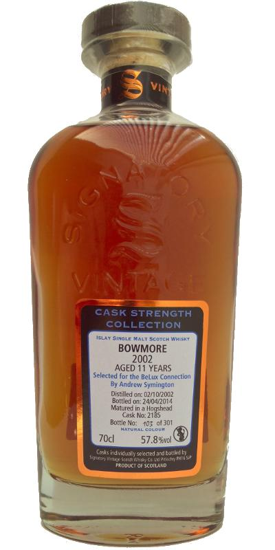 Bowmore 2002 SV