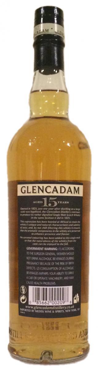 Glencadam 15-year-old