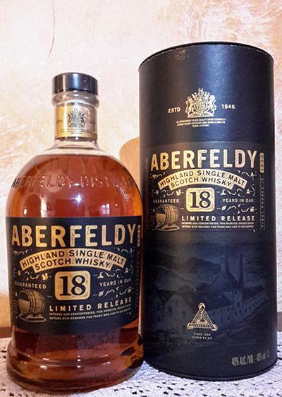 Aberfeldy 18-year-old