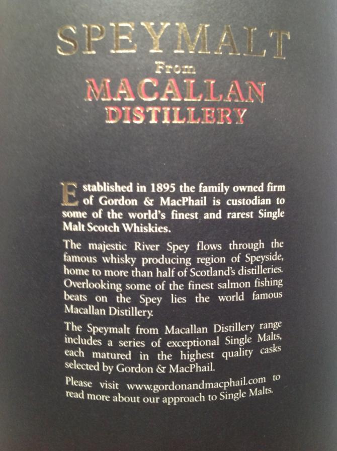 Macallan 2005 GM