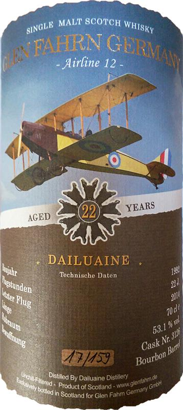 Dailuaine 1992 GF