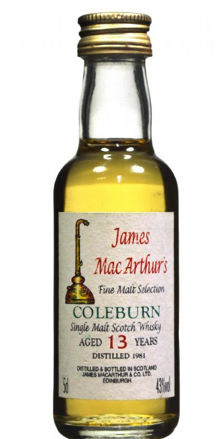 Coleburn 1981 JM