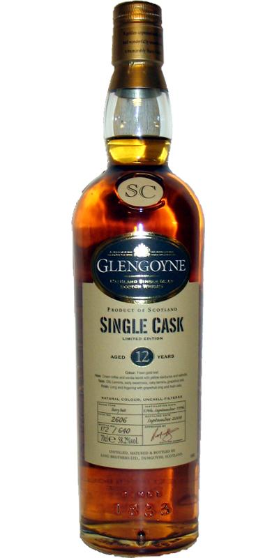 Glengoyne 1996 Sherry