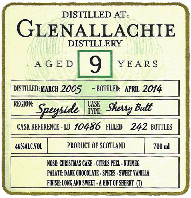 Glenallachie 2005 DoD