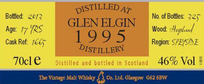 Glen Elgin 1995 VM