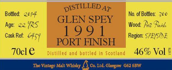 Glen Spey 1991 VM