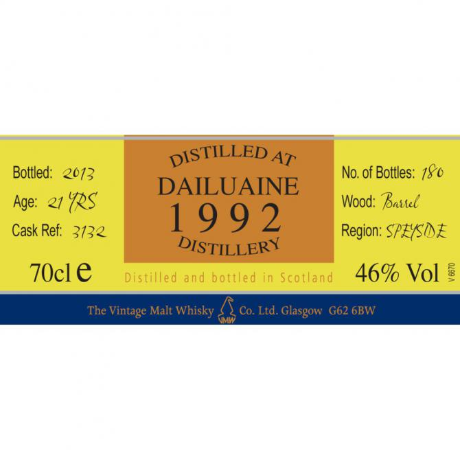 Dailuaine 1992 CC