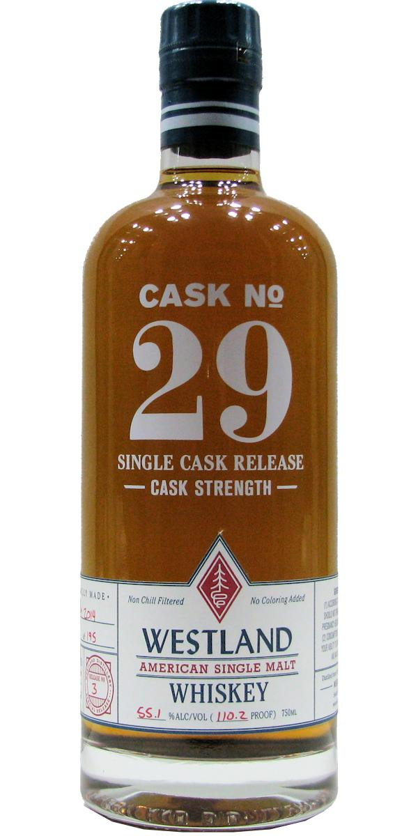 Westland Cask No. 29