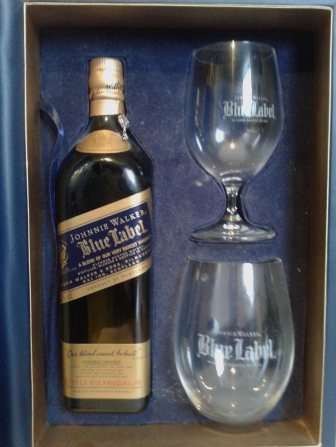 Photo by uk_jih · Johnnie Walker Blue Label CNY Gift Pack - 2 Glasses
