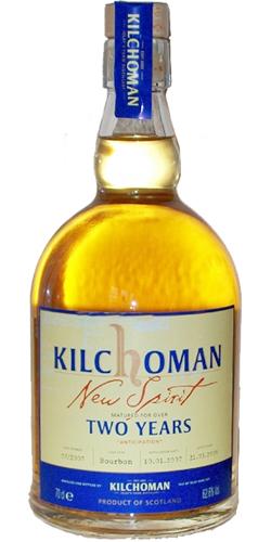 Kilchoman 2007 The Final Spirit
