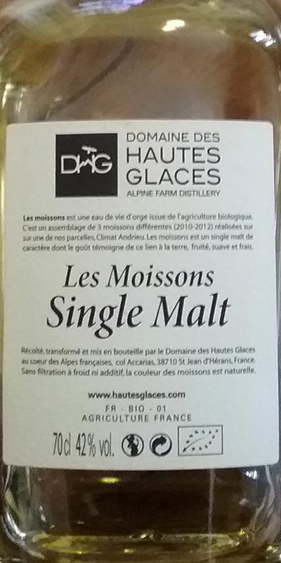 Domaine des Hautes Glaces Les Moissons