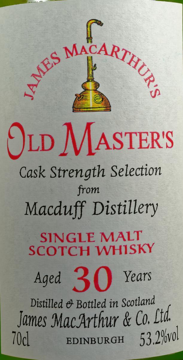 Macduff 30-year-old JM