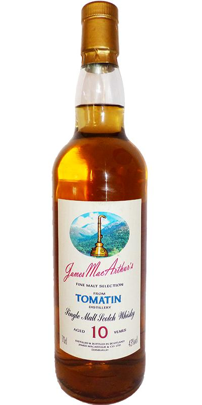Tomatin 10-year-old JM