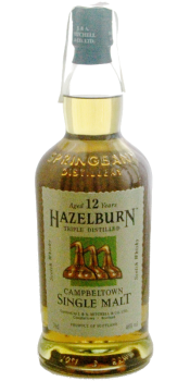 Hazelburn 12-year-old