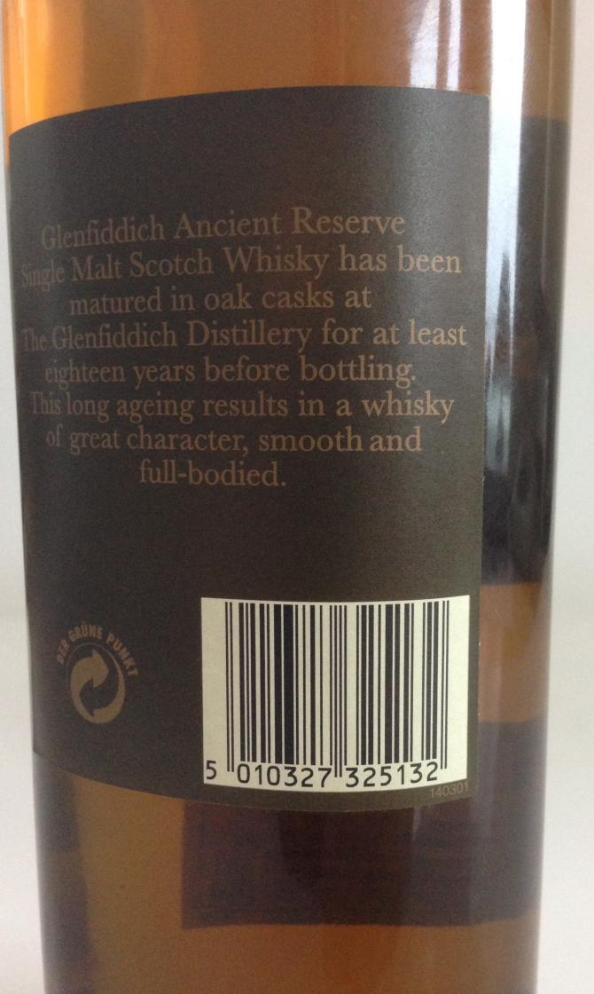 Glenfiddich Ancient Reserve