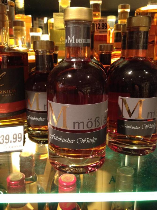 Weingut Mößlein Fränkischer Whisky
